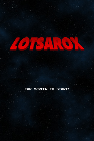 Lotsarox Intro Screen